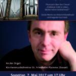 Konzertankündigung St. Ansgarii Bremen, Mai 2017